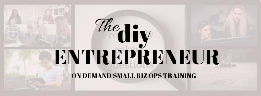Accufigures DIY Entrepreneur Banner Design