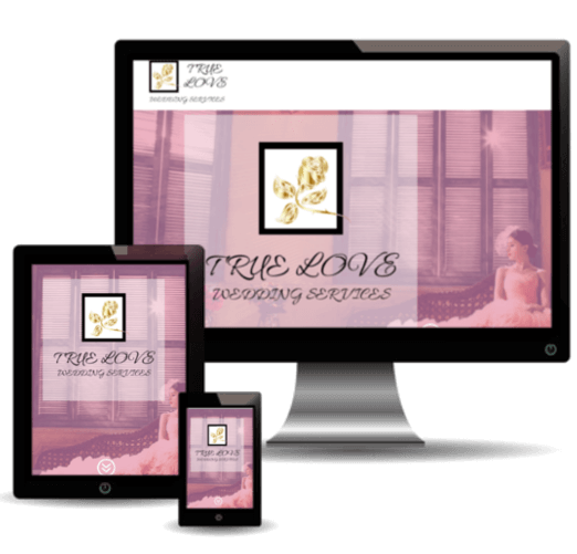 True Love Wedding Services Website