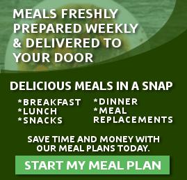 Meal Prep Service Ad Design