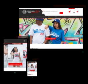 urban ecommerce website design