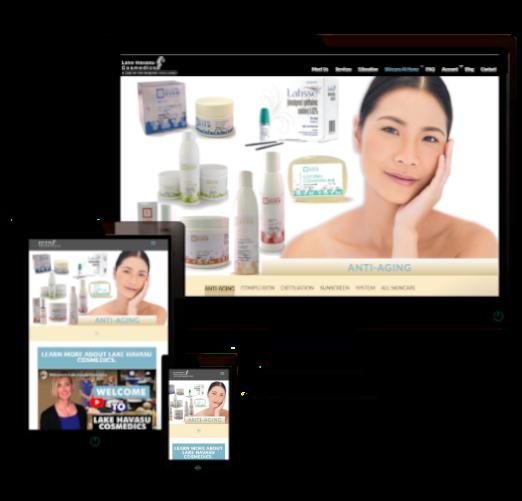medspa ecommerce web design near me